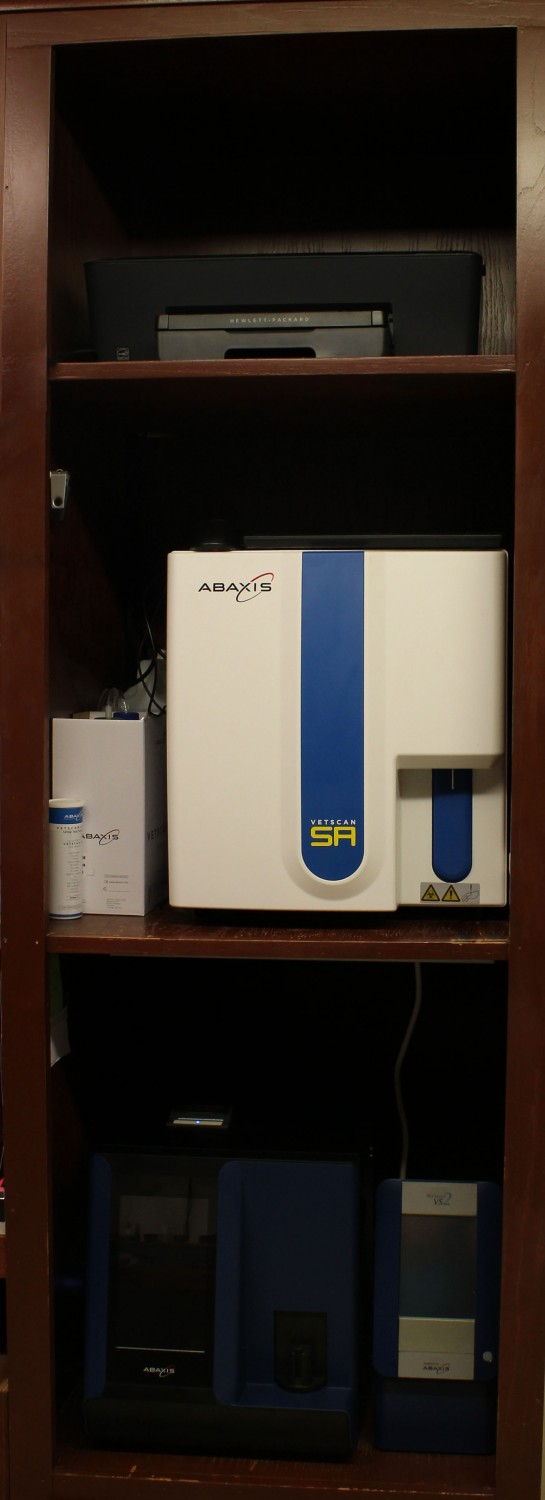 Bloodwork and Urine Sediment Analysis Machines